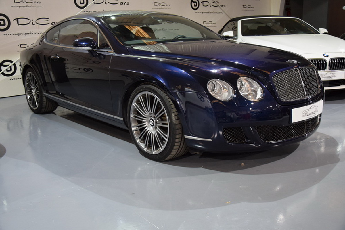 Bentley Continental GT Speed 610cv